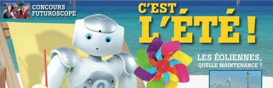 Plante Robots - Couverture du Magazine No10 Bandeau #1