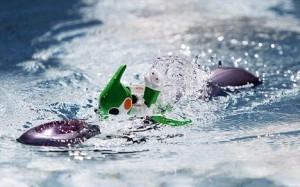 Evolta - Le Robot de Panasonic fait le Triathlon IronMan #2