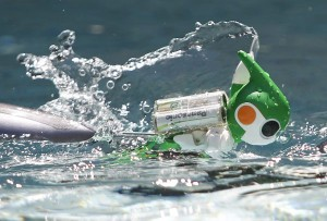 Evolta - Le Robot de Panasonic fait le Triathlon IronMan #3