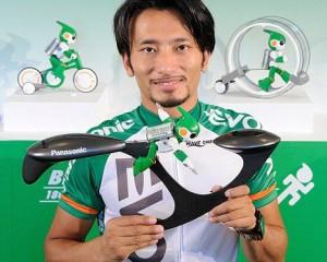 Evolta - Le Robot de Panasonic fait le Triathlon IronMan #5