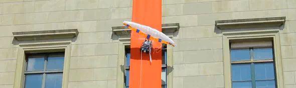 Paraswift - un robot grimpeur qui fait du base jump #1