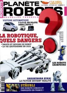 Planète Robots - Couverture du Magazine No11 #1