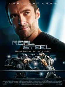 Real Steel - Film Robots - Affiche Francçaise #1
