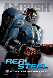 Real Steel - Film - Robot Ambush - Poster #2