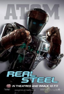 Real Steel - Film - Robot Atom - Poster #1
