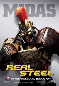 Real Steel - Film - Robot Midas - Poster #3