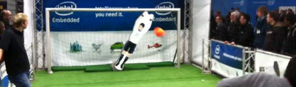 RoboKeeper - Le Robot Gardien de but de football #2