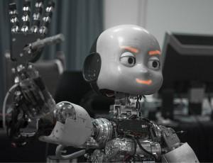 iCub - un robot pour porter la flamme olympique en 2012 #1