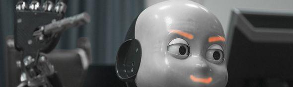 iCub - un robot pour porter la flamme olympique en 2012 - Bandeau #1
