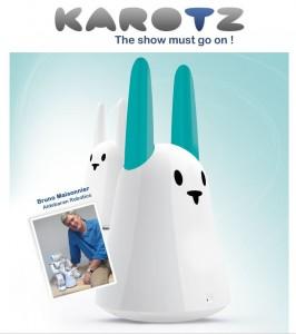 Aldebaran Robotics adopte le Lapin Karotz #1