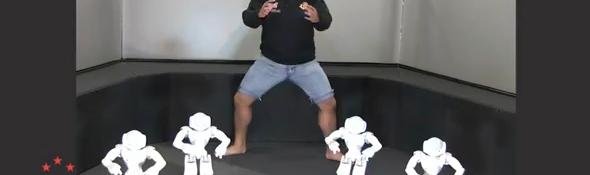 Le robot nao pr pare le haka pour la finale de la coupe du monde de rugby 2011 robot blog - Finale coupe du monde de rugby 2011 video ...