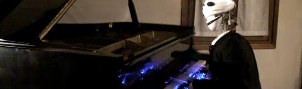 Teotronico - Le robot qui joue du piano #1