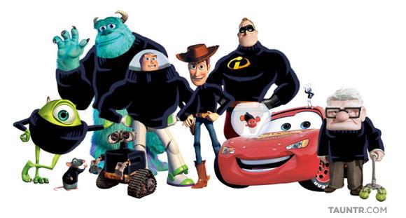 Wall-E le Robot et Pixar rendent hommage à Steve Jobs #1