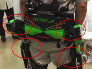 L'exosquelette robotisé pour l'assistance au travail de Kawasaki #2