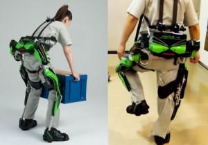 L'exosquelette robotisé pour l'assistance au travail de Kawasaki #3