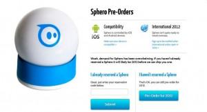 Sphero - Balle Robotique d'Orbotix - Pre-Commande #2