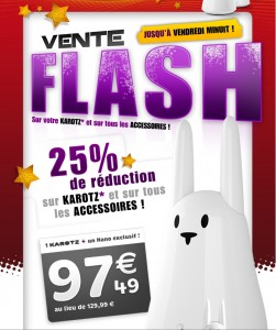 Karotz - Vente Flash Noel #1