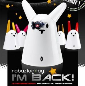 Nabaztag:Tag - Le Retour du Lapin Robot - Noel 2011 #1