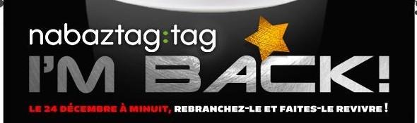 Nabaztag:Tag - Le Retour du Lapin Robot - Noel 2011 - Bandeau #1