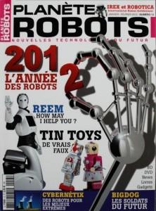 Planète Robots - Couverture du Magazine No13 #1
