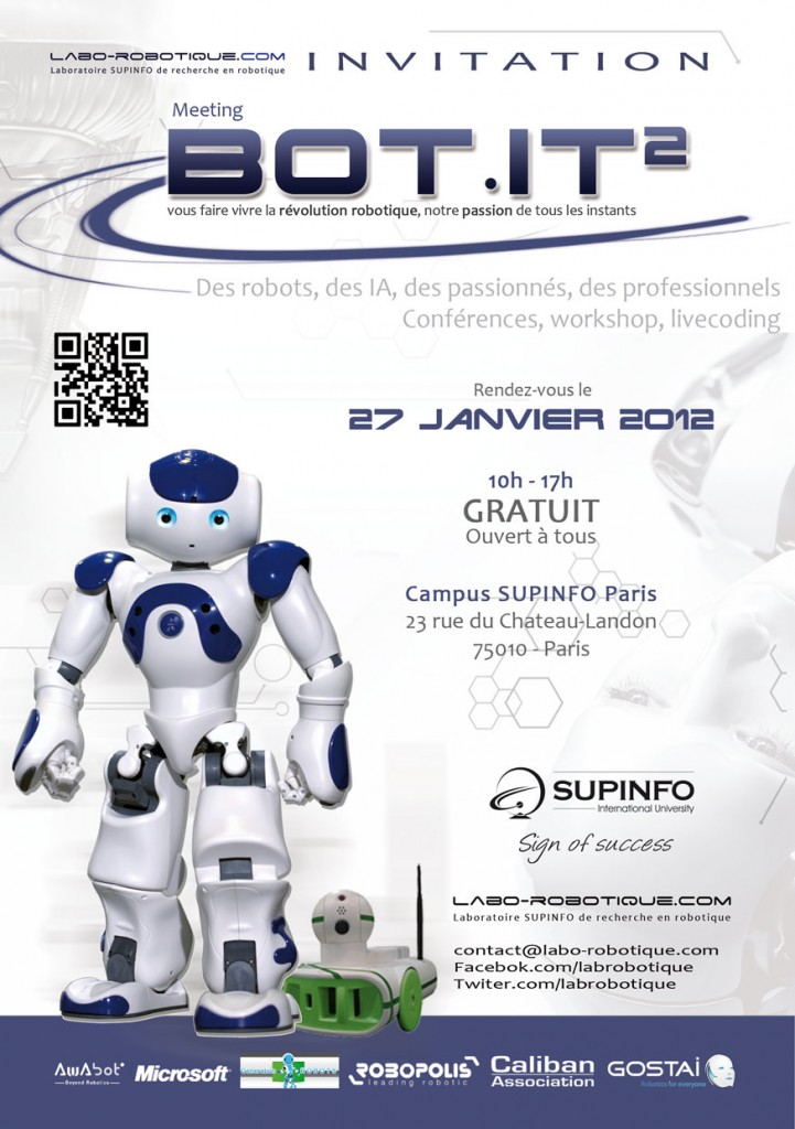 Bot.IT 2 - Meeting Robotique - Laboratoire SupInfo #1