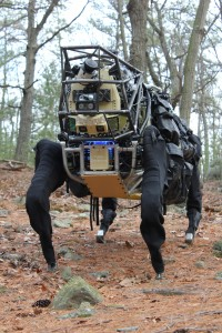 Robot AlphaDog de Boston Dynamics - LS3 - En phase de Tests #1