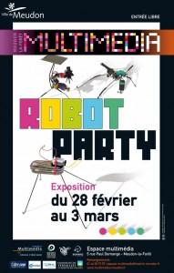 Robot Party 2012 - Meudon La Foret - Affiche #1