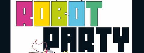 Robot Party 2012 - Meudon La Foret - Affiche - Bandeau #1