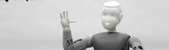Roméo - Robot Humanoïde - Aldebaran Robotics - Bandeau #1