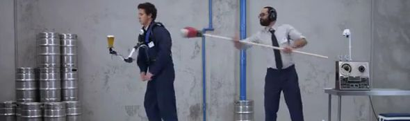 Hahn - Bras Robotique pour stabiliser votre bière - Publicité #1