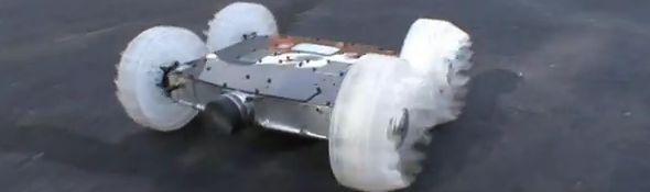 Sand Flea - le robot sauteur de Boston Dynamics - Bandeau #1