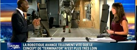 La robotique s'approche du concept de Terminator  Vido Emission Culture Geek #1