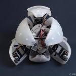 Morphex - Robot Hexapod qui Roule #4