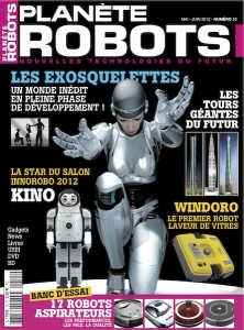 Planète Robots - Couverture du Magazine No15 #1