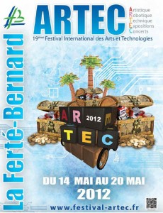 Artec 2012 - 19èmeF estival - Championat d'Europe de robotique #1