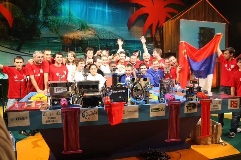 Championnat d'Europe de robotique - Vainqueur Coupe Robotique Eurobot