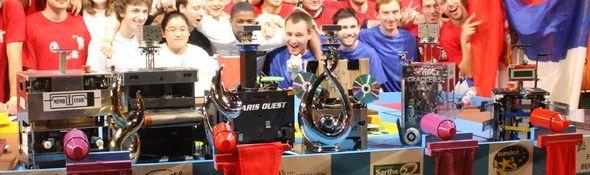 Artec - 19ème Festival - Championnat d'Europe de Robotique - Vainqueur Coupe Robotique Eurobot - Bandeau #3