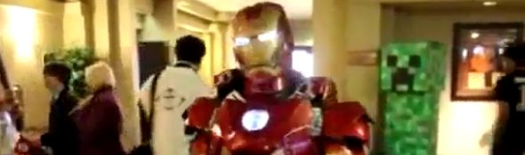 Un vrai costume d'Iron Man - Cosplay #1