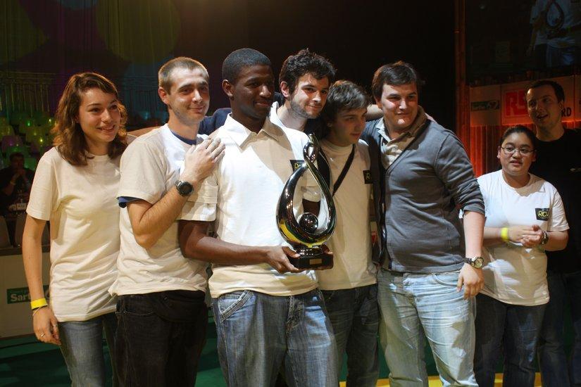 Coupe Eurobot de Robotique 2012 - Vainqueurs Ville d'Avray