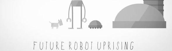 Robopocalypse - Comment survivre à une révolte de Robots - How to Survive a Robot Uprising  - Bandeau #1