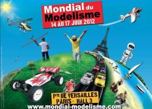 Mondial du modélisme 2012 - Affiche #1