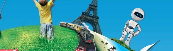 Mondial du Modélisme 2012 et de la Robotique - Affiche Bandeau #1