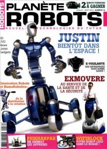 Planète Robots - Couverture du Magazine No16 #1