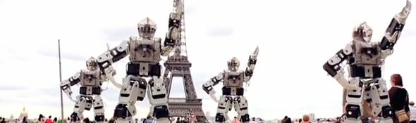 Robot Break Dance in Paris #1
