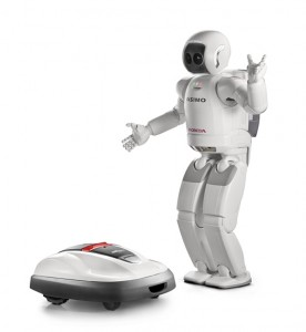 Miimo le Robot-tondeuse à gazon de Honda #1