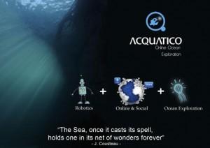 Robot sous marin Aquatico (Kickstarter)