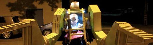 Exosquelette Power Loader avec Bébé - Déguisement pour Halloween - Bandeau #1