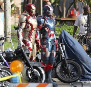 Film Iron Man 3 - Mark XLVII et Iron Patriot #1
