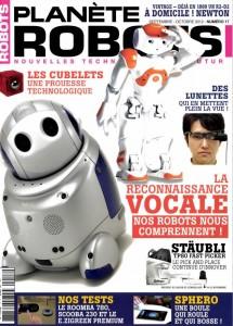 Planète Robots - Couverture du Magazine No17 #1