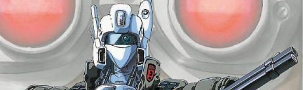 Patlabor - Article du Journal 20 Minutes - Robots - Science Fiction - Bandeau #1